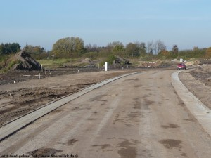2011-10-22 Straße vorläufig fertig