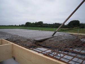 2012-07-06 Die Decke wird geschüttet