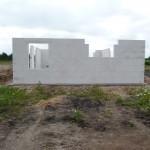Tadaaa, die Außenmauern des EG stehen