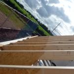 Dachstuhl außen, Süden