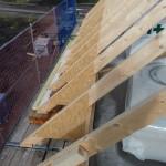 Dachstuhl von oben