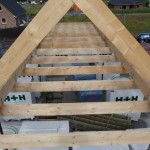 Spitzboden im Dachstuhl