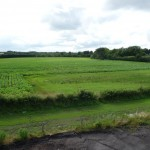 180°-Blick auf das Feld vom Spitzboden aus - Bild 3
