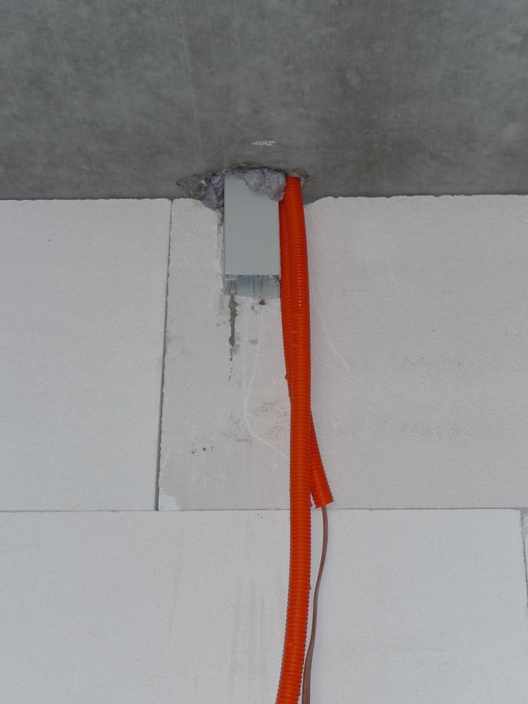 Des Elektrikers weg nach oben