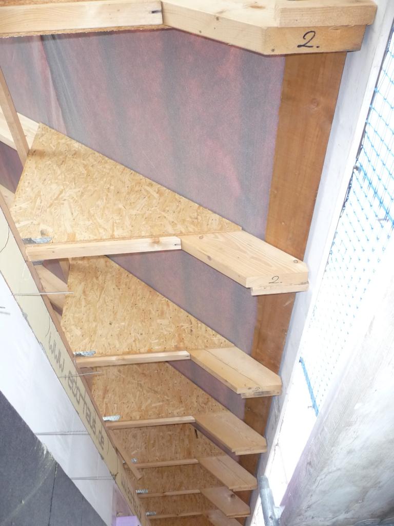 Delta-Folie in den Dachüberständen