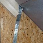 Gespannter Dachstuhl mit Rispenband