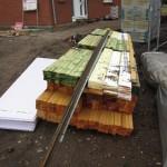 Holz für's Dach