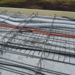 Helios-Belüftungsrohre auf dem Dach