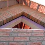Dreiecksfenster im Spitzgiebel, Westseite