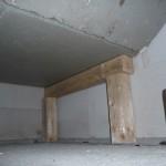 Wie viele Jahre soll das Treppenpodest auf Holz stehen?