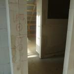 Elektroplanung im Haus (Badezimmer und Flur)