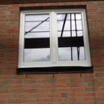 Arbeitszimmerfenster von außen