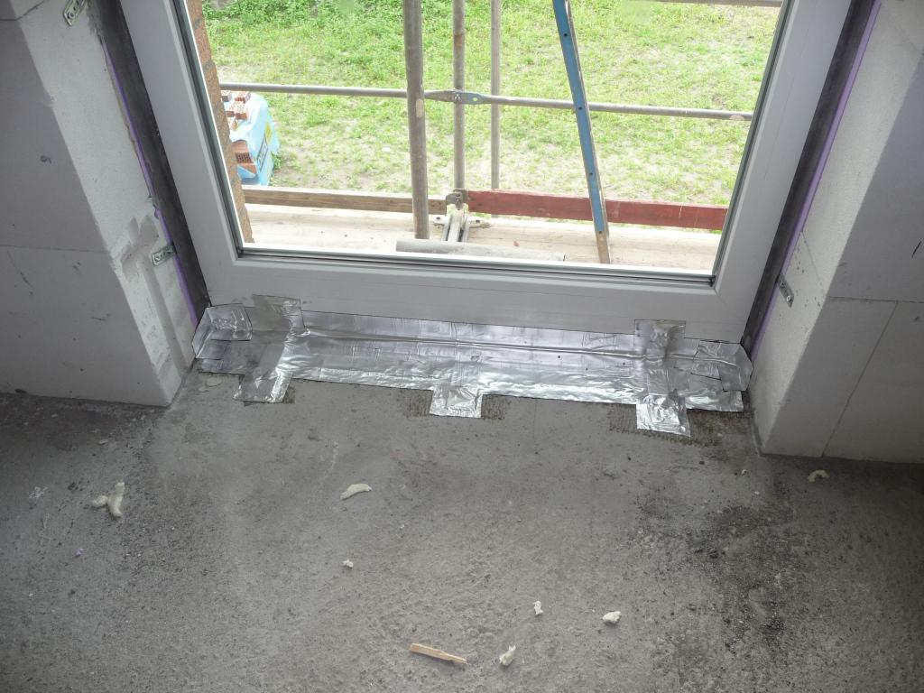 Fensterdichtung im OG