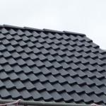 Dach mit Firstpfannen