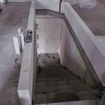 Innenmauern Treppenraum 13:00
