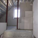 Innenmauern Treppenaufgang