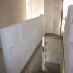 Innenmauern Treppenraum