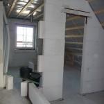 Ankleidezimmer: Nun ist der Abstand von der Türzarge genauso groß, wie die Tür breit -> Schiebetürpotential
