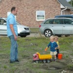 Kinderspielplatz vor dem Haus :)
