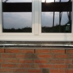 Sohlbankvorbereitung Küchenfenster
