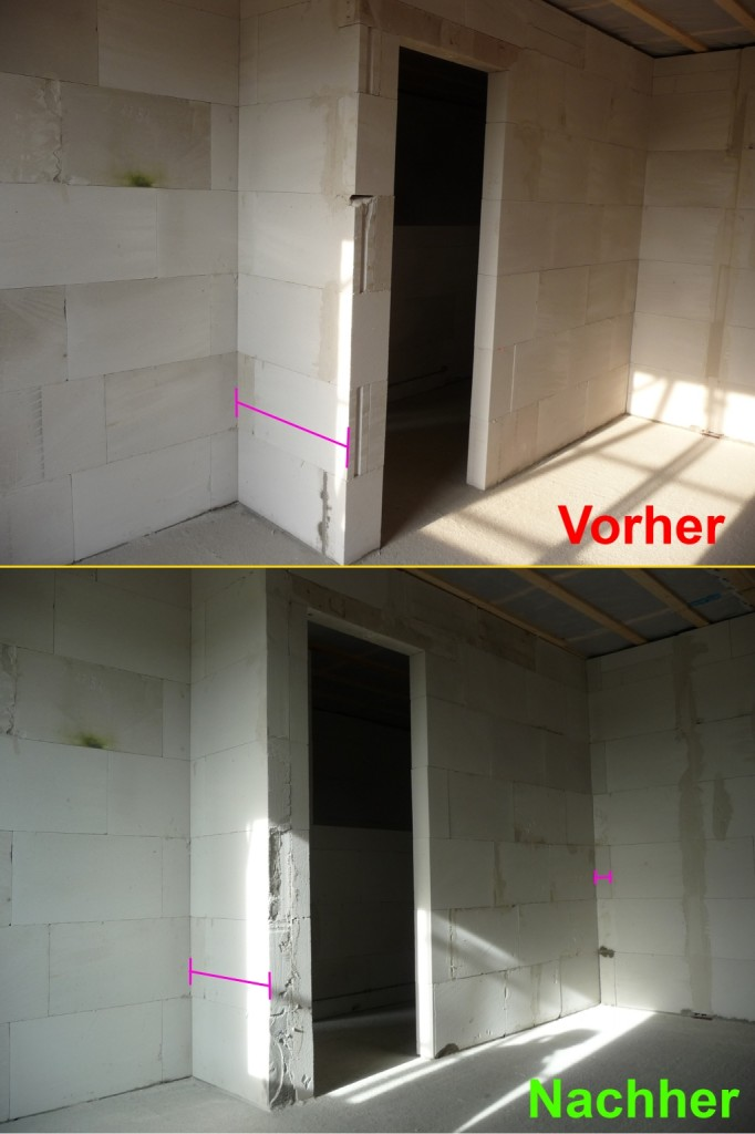 Kinderzimmer1-Wand im Vorher-Nachher-Vergleich