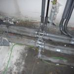 Die Rohre im HTR sind fest verbunden und fixiert