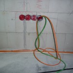 CAN- und Audio-Kabel im EG linear an einem Stück verlegen