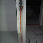 CAN- und Audio-Kabel im OG linear an einem Stück verlegen