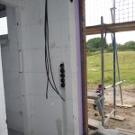 Elektrovorbereitungen im EG
