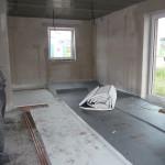 Fussbodendämmung in der Küche (25.09.2012)