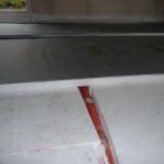 Fußbodendämmung im Wohnzimmer (25.09.2012)