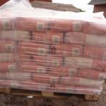 Mauer-Material am 27.09.2012 geliefert