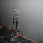 Tag 3 - Und immer noch wird geputzt - Wohnzimmeranschlüsse