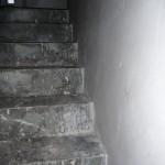 Tag 3 - Und immer noch wird geputzt - Treppe