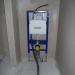 Sanitärkasten im Gäste-WC