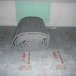 Fußbodenheizungsvorbereitung im Kinderzimmer 1