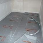 Fußbodenheizungsvorbereitung im Kinderzimmer 2