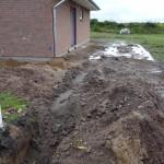 Tiefbauarbeiten für Elektro und Fernwärme