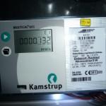 Blick auf den Energieverbrauch am Tag 2 (23.10.2012)