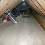 Tadaa, der Dachboden ist erstmal fertig