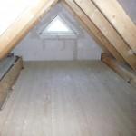 Der Dachboden blitzt und ist bereit für Kartons :-) (27.10.2012)