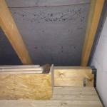 Auf dem Dachboden tropft es von der Deltaplane (29.10.2012)