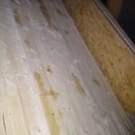 Es tropft auf unseren Super-Holzfußboden herunter (29.10.2012)