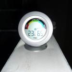 Abends herrschen noch krasse Temperaturen und eine enorme Feuchte (29.10.2012)