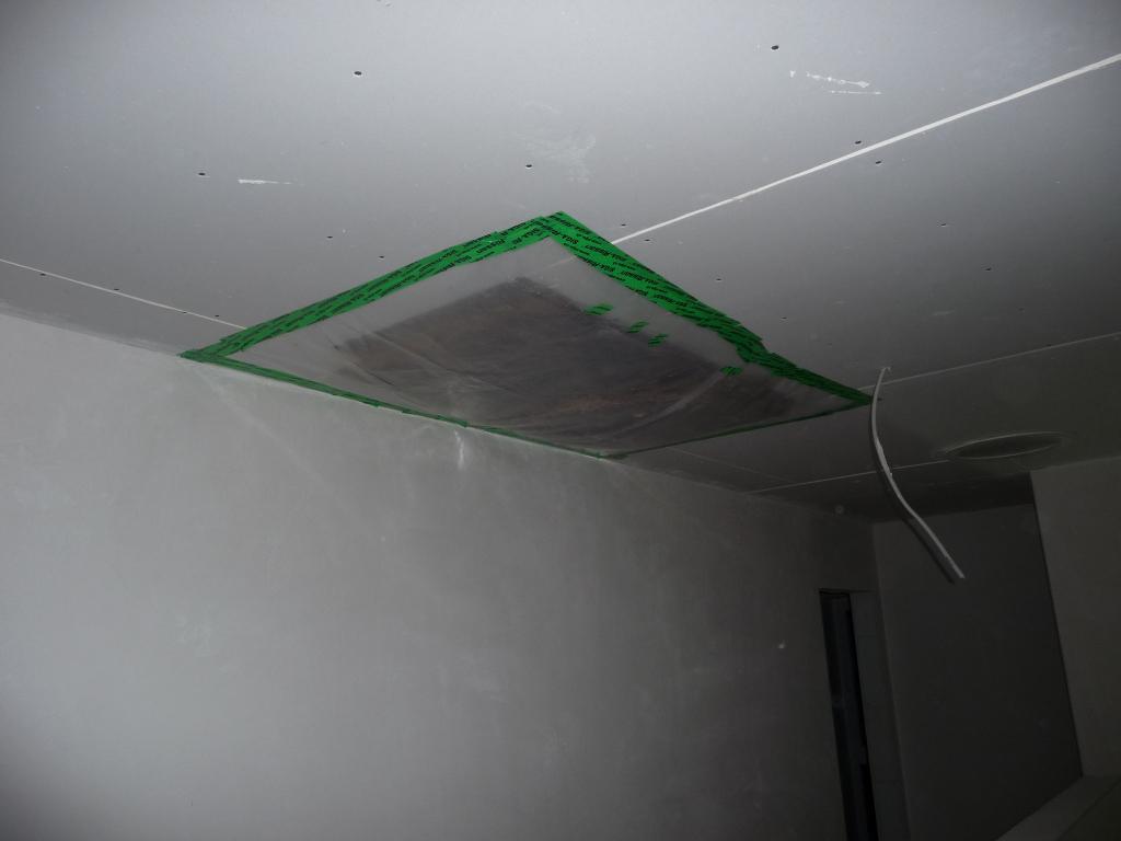 Damit ist der Dachboden erstmal unzugänglich