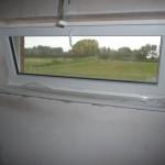 Fensterbank im Gäste-WC