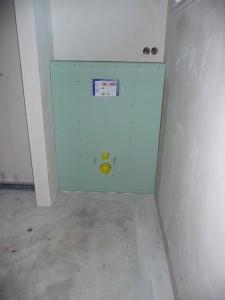 Klo-Spülkasten im Gäste WC