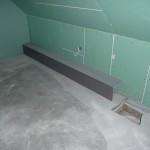 Rohrkasten zum Fallrohr - das soll später eh einmal in einem Schrank verschwinden