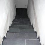 Die Treppe ist komplett fertig