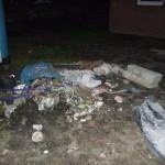 Der Müll der ganzen Gewerke könnte doch langsam mal abgeholt werden